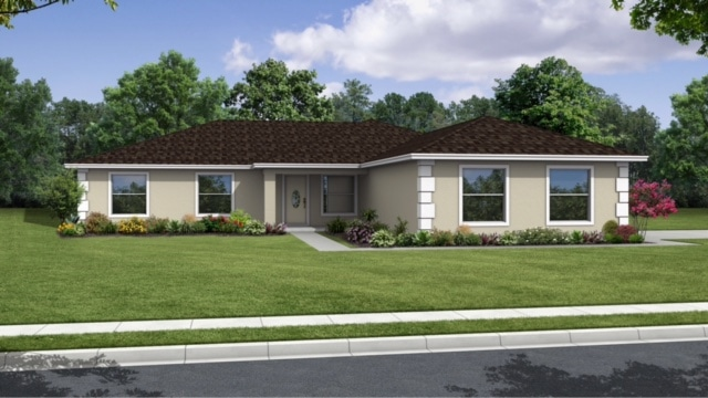 front rendering Lawn grand